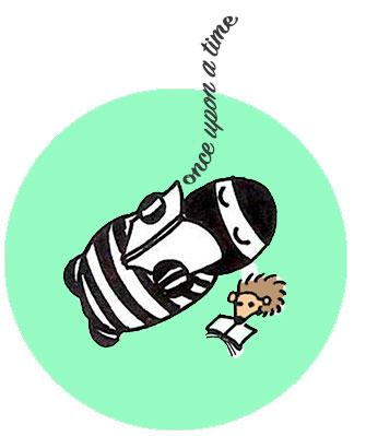 Boefbandito-reading-hedgehog